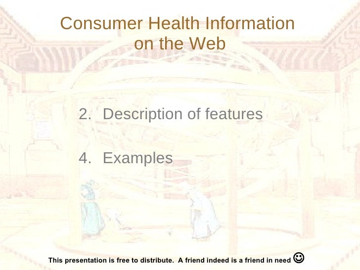 consumer health information on the internet
