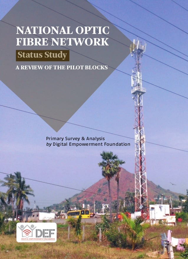 national optical fibre network Amid right-of-way hurdles stymying the national optical fibre network (nofn), a vital component of the nda government's digital india push that aims at plugging the rural connectivity gap, the centre has given in to the demands made by a section of states to implement their part of the scheme on their own.