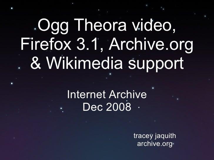 Internet Archive Video Presentation