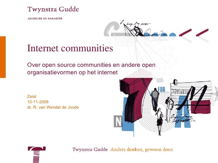 Internet Communities and business