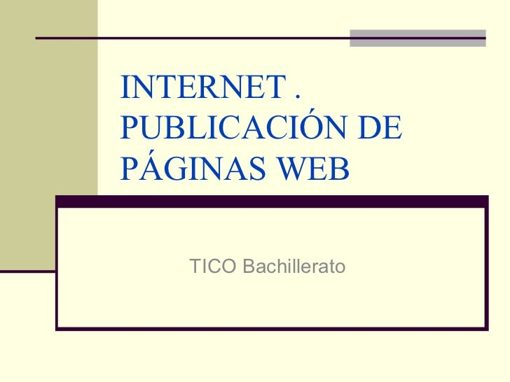 Internet   diseño web