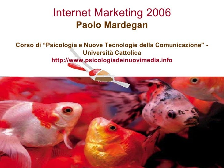 Internet Marketing 2006