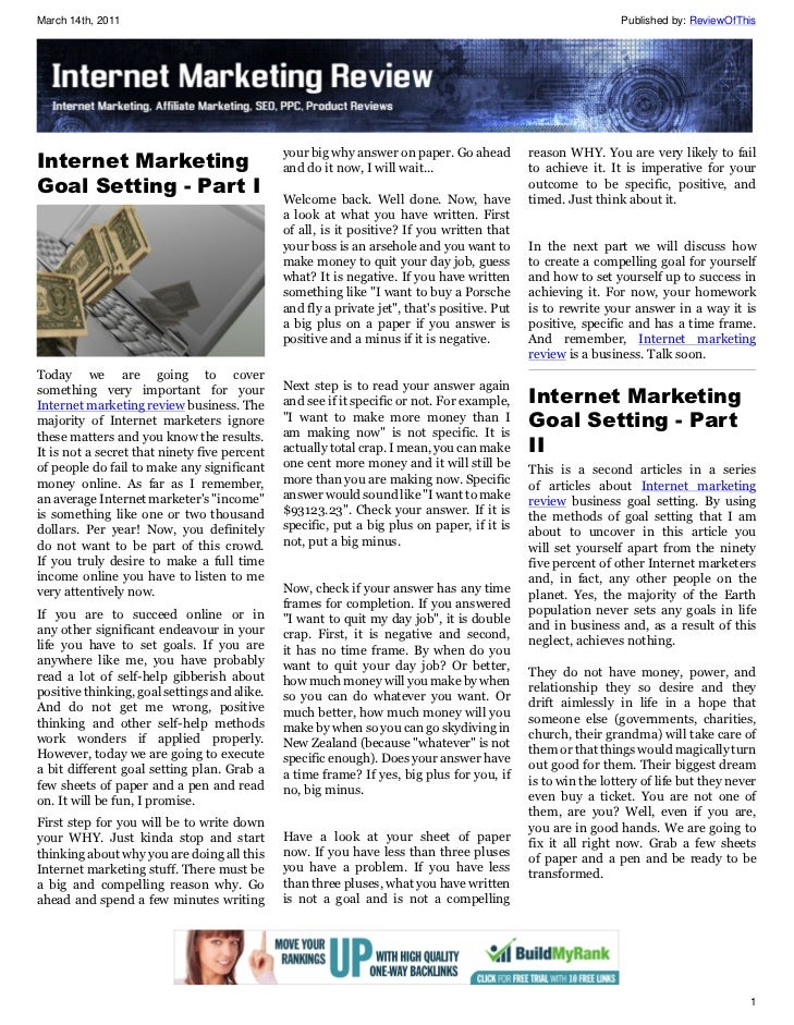 Internet marketing-review Issue 2