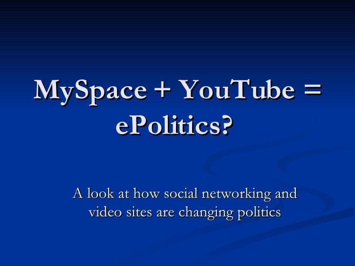Internet + Politics