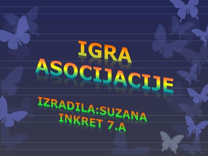 Igra asocijacije - Internet