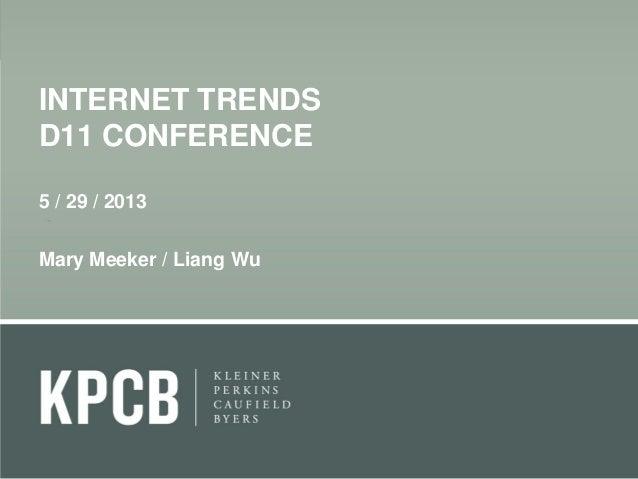 Internet trends-2013