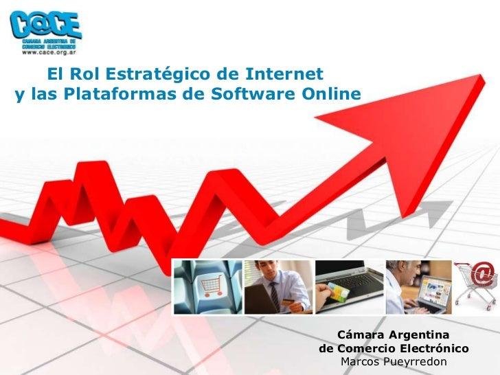 El Rol Estratégico de Internet y las Plataformas de Software Online                                       Cámara Argentina...