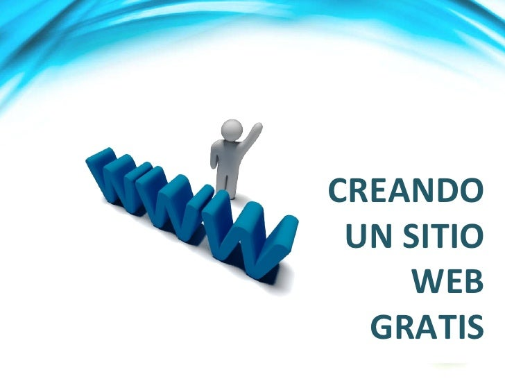 Charla Creando Web Gratis