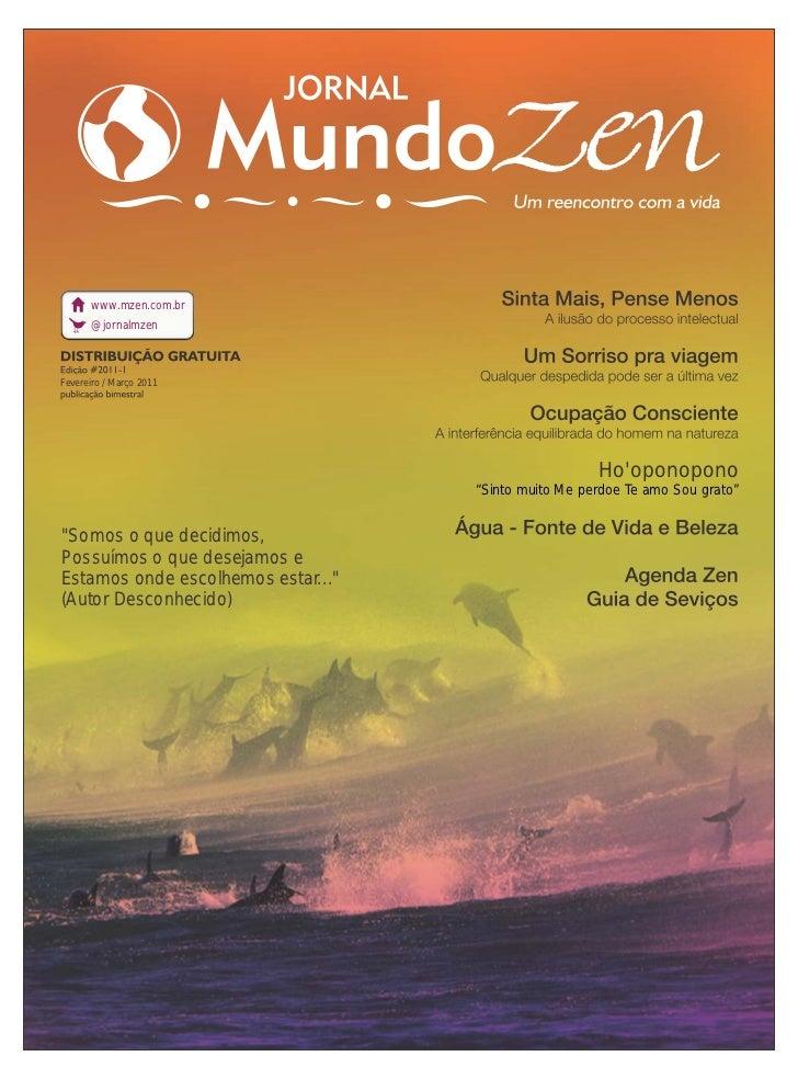 Jornal Mundo Zen - Fev/Mar 2011