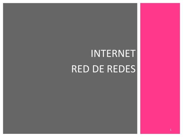 Internet [red de redes]