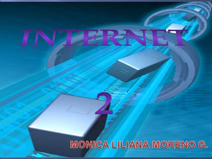 INTERNET 2 Y BLOG