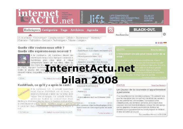 InternetActu.net bilan 2008