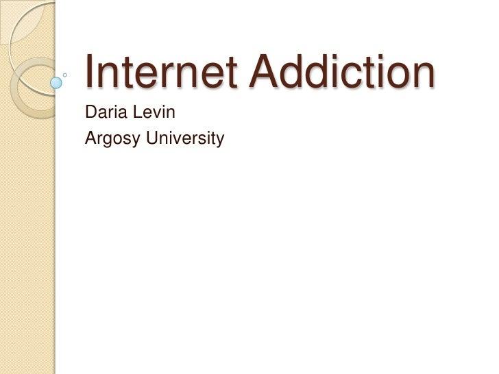 Internet Addiction Powerpoint