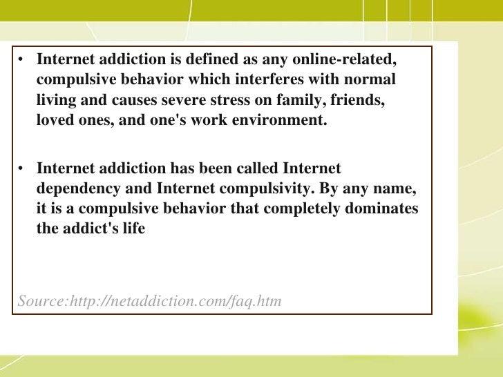 addiction studies essay