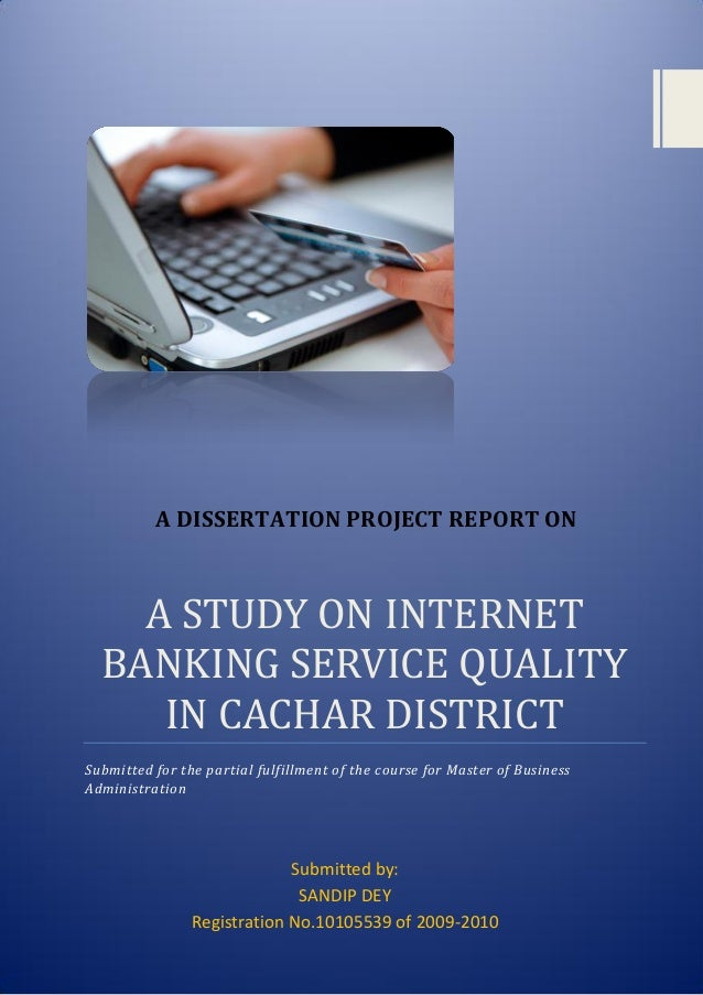 Banking And Finance Dissertation