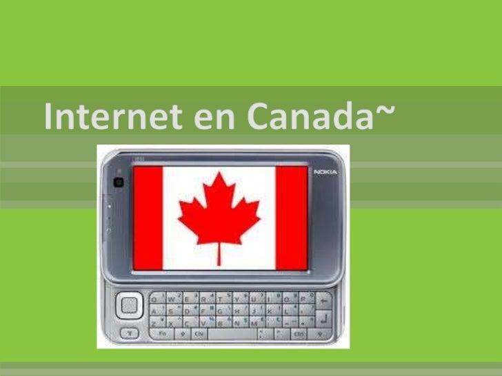 Internet en canada~
