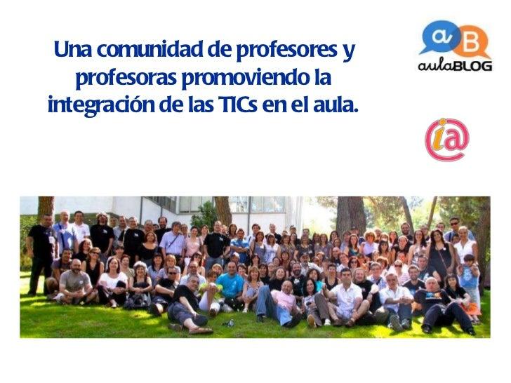 AulaBlog, con Isidro Vidal