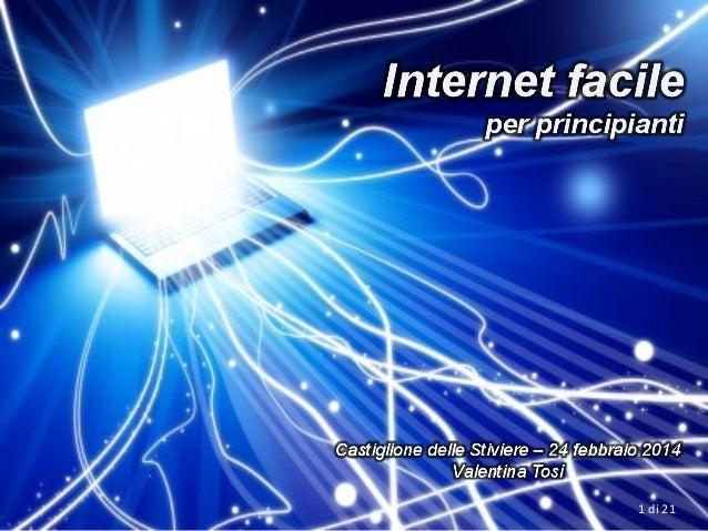 Internet facile - Gmail @Castiglione2014