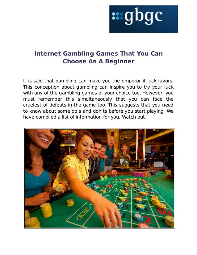Free Online Gambling Games That Pays You