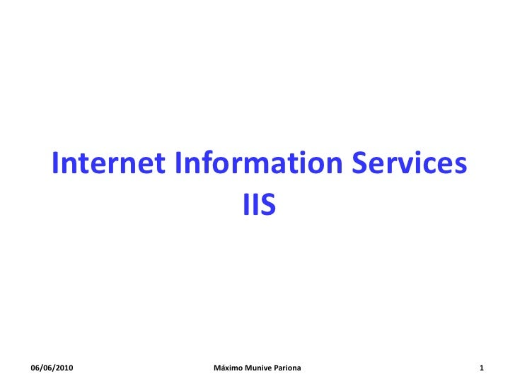 Internet information