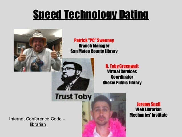 Speed Technology Dating at Internet Librarian 2012