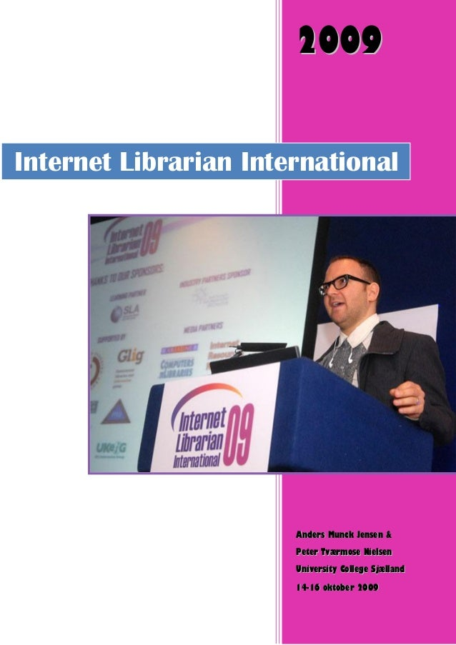 Internet librarian 2009 london