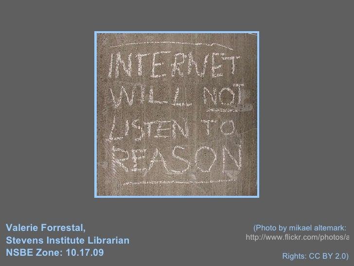Valerie Forrestal,  Stevens Institute Librarian NSBE Zone: 10.17.09 (Photo by mikael altemark:  http://www.flickr.com/phot...