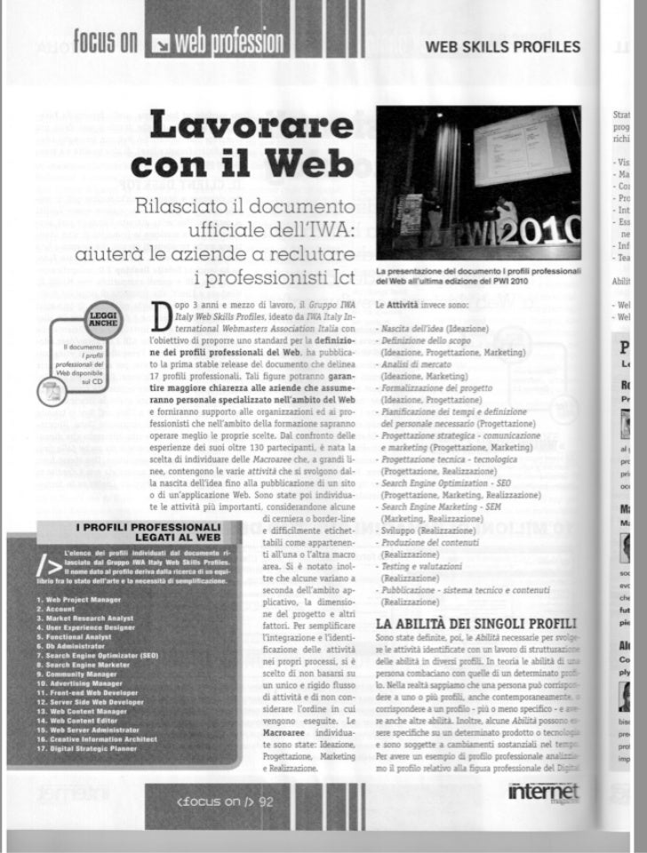 Internet magazinecover