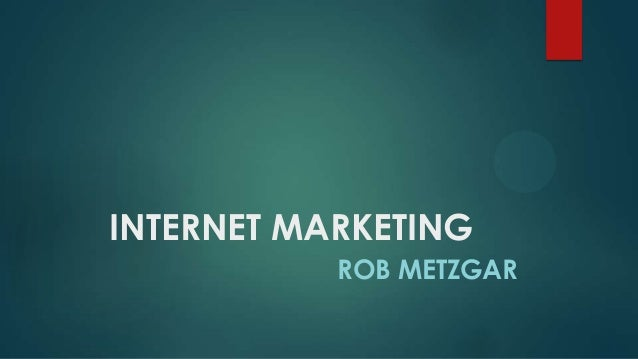 Rob Metzgar- A person with immense skills