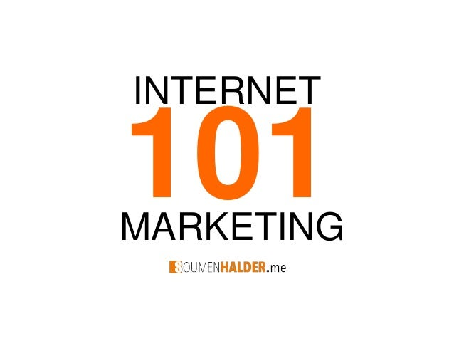 Internet marketing for Starters
