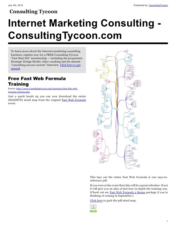 Internet marketing consulting consulting tycoon com 04 jul-2010