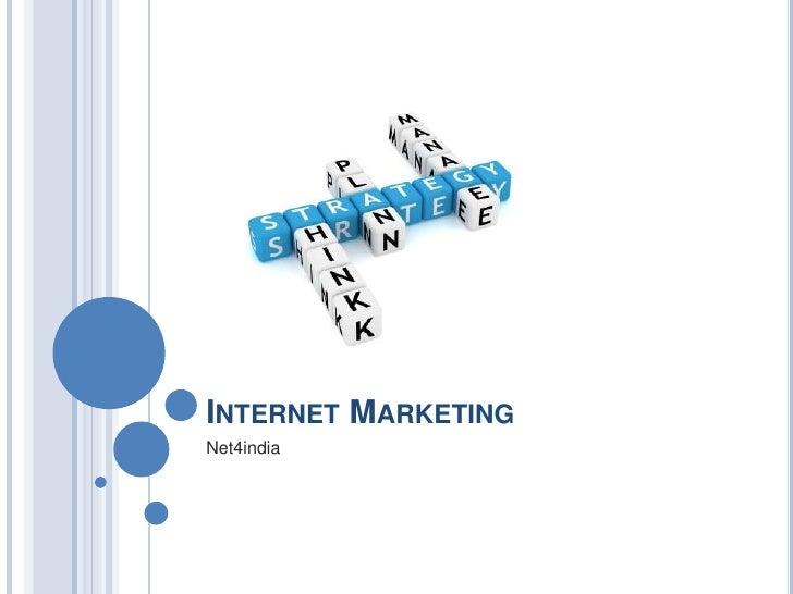 INTERNET MARKETINGNet4india