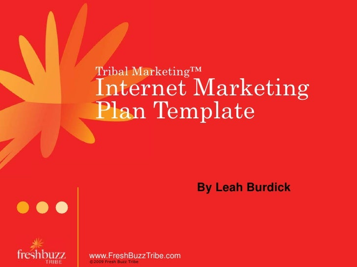 Internet Marketing Plan for Small Business