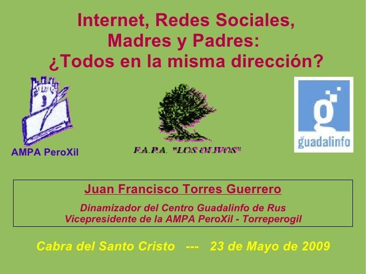 Internet, Menores, Redes, Madres y Padres