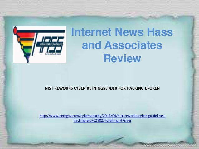 Internet News Hass and Associates Review
