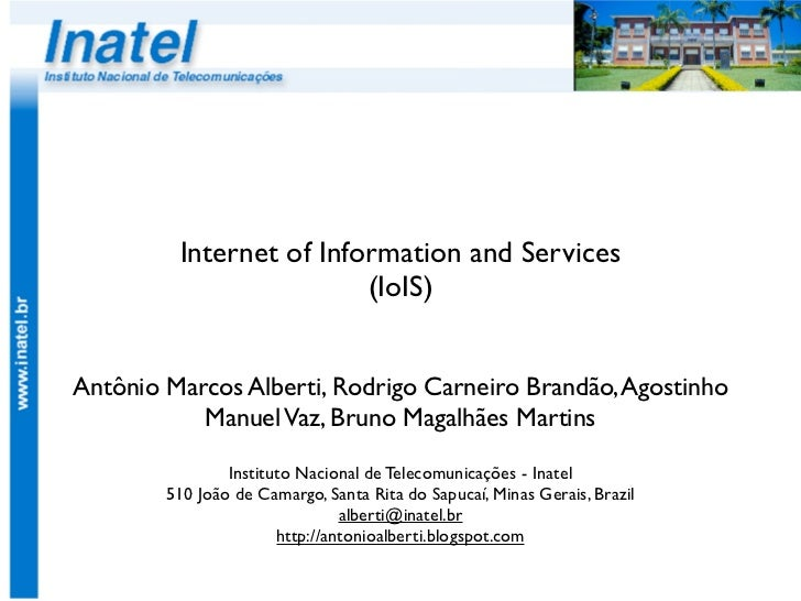 Internet of Information and Services (IoIS)