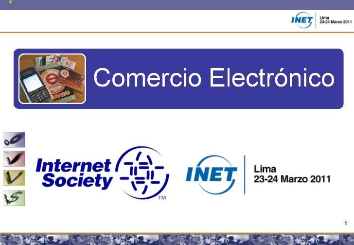 Comercio Electronico en Peru y su situacion respecto a America Latina 2011