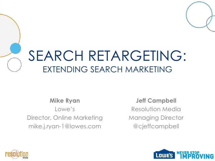 Search Retargeting: Expanding Paid Search