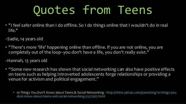 So I do things online that I Internet Safety Quotes