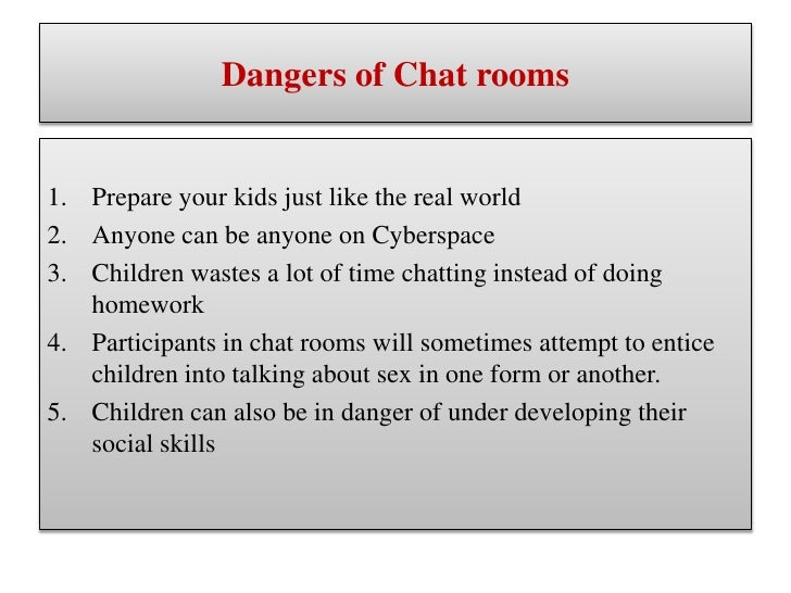 internet chat rooms not safe essay