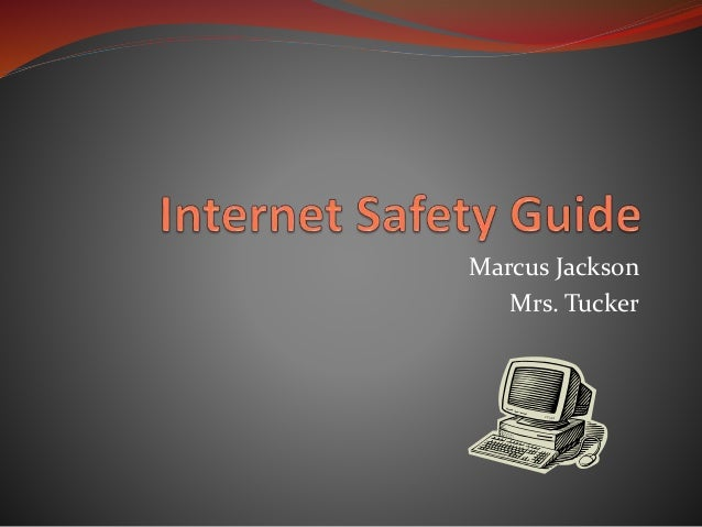 Internet safety guide