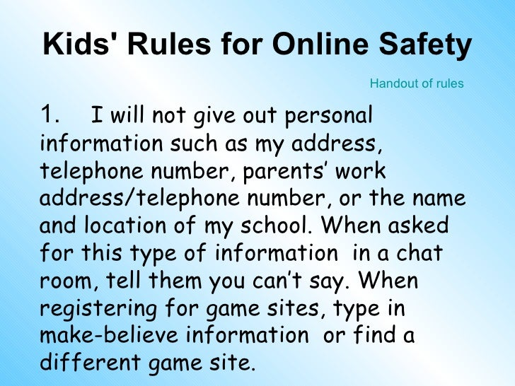 internet chat rooms are not safe essay The term chat room,  the users in a particular chat room are generally connected via a shared internet or  most commonly used chat rooms are not moderated and.