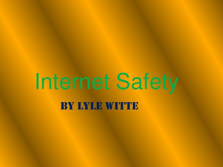 Internet Safety Lw Spammer