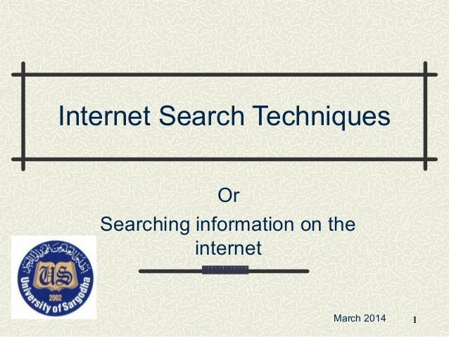 Online Research: Tips for Effective Search Strategies ...