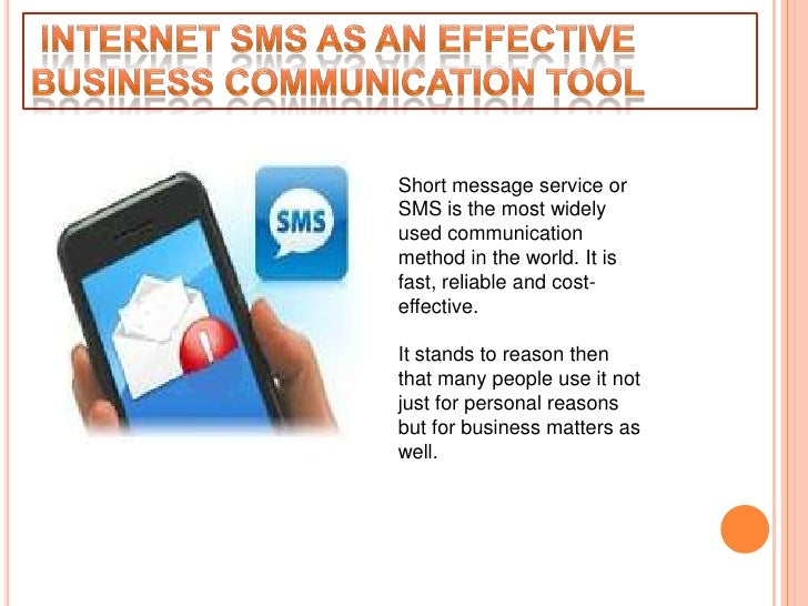 Short message service orSMS is the most widelyused communicationmethod in the world. It isfast, reliable and cost-effectiv...