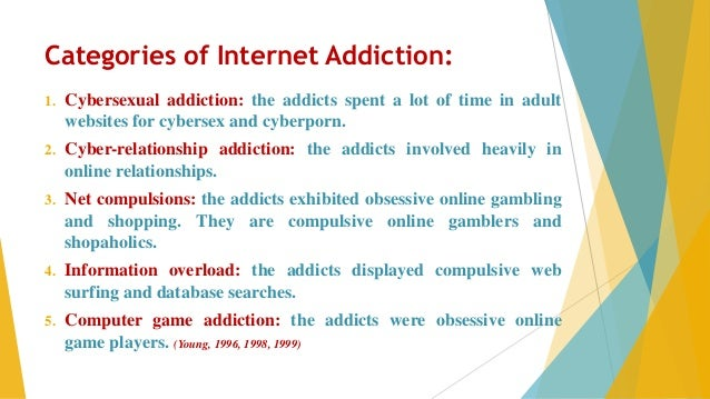 informative speech on internet addiction