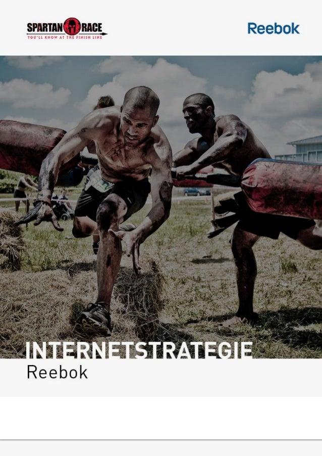 Internetstrategie Reebok - Programma plan