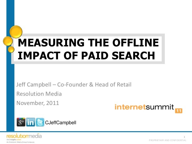 Measuring Offline Impact of Online Marketing
