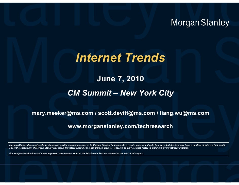 Internet Trends 2010