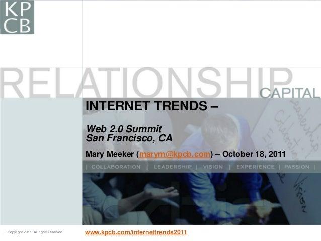 Internet trends 20111018